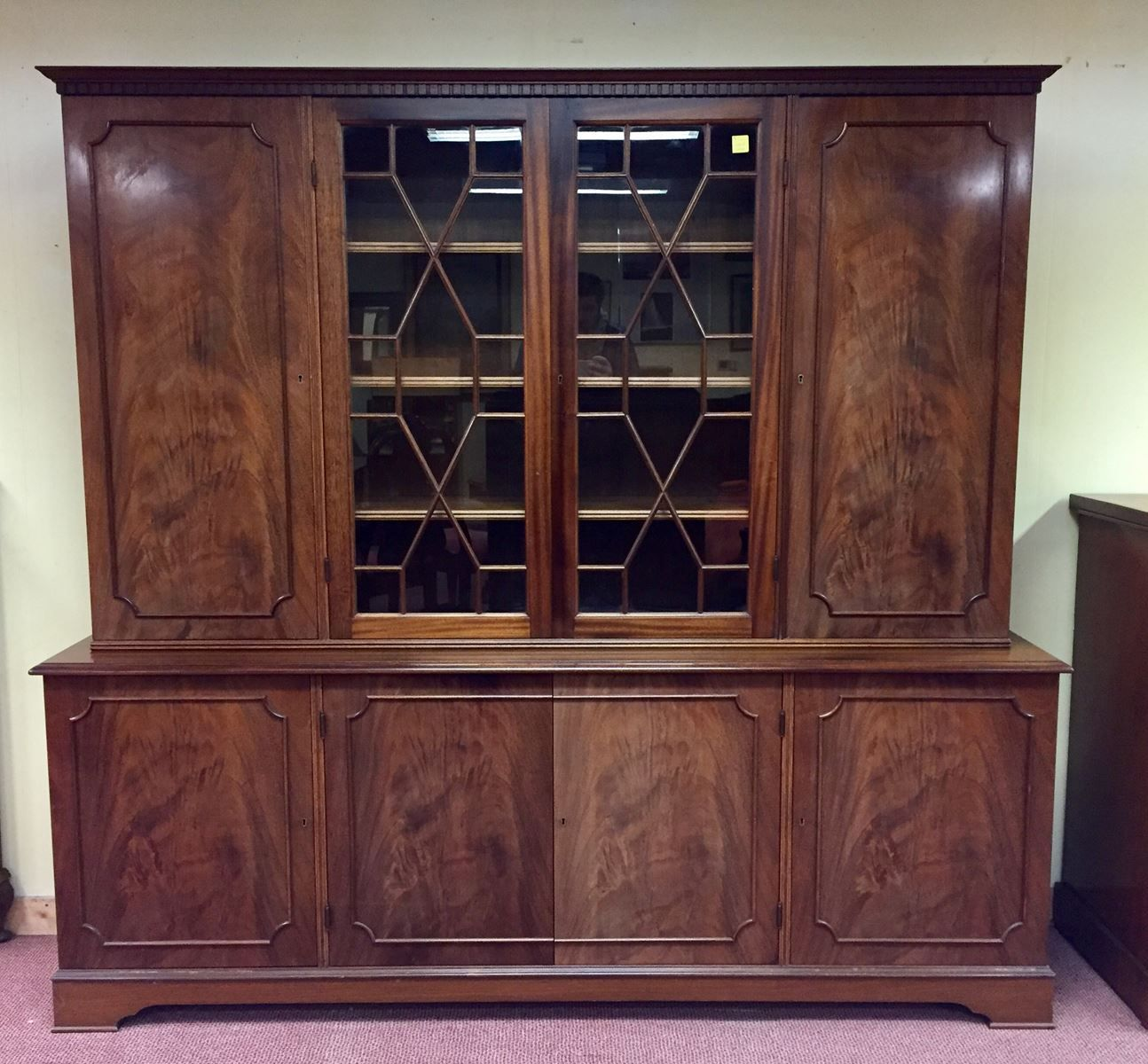 Mahogany 8 Doors Library 1950s & Mahogany 8 Doors Library 1950s for sale at Pamono pezcame.com