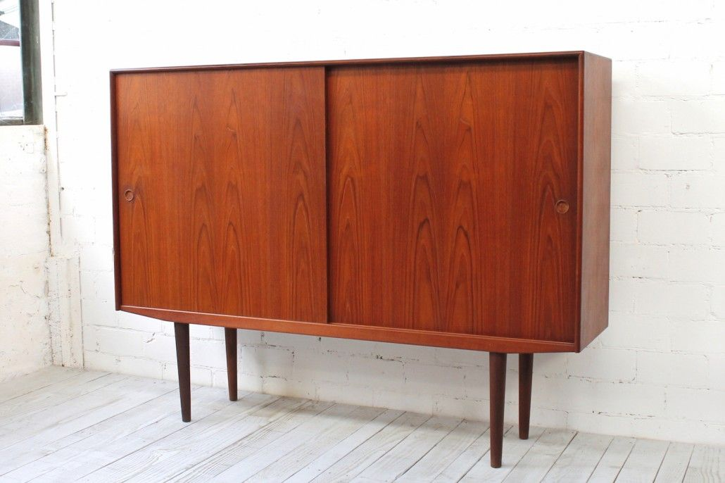 d nisches mid century sideboard 1960er bei pamono kaufen. Black Bedroom Furniture Sets. Home Design Ideas