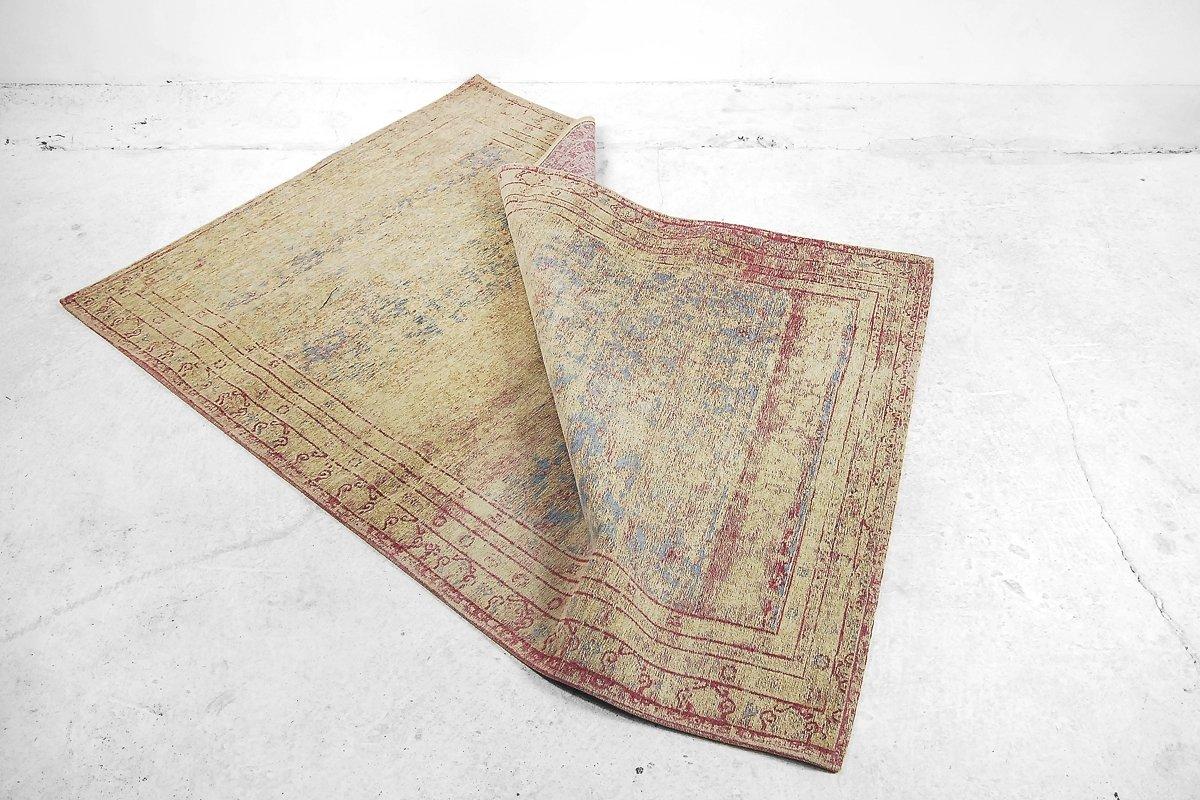 berf rbter goldener vintage teppich bei pamono kaufen. Black Bedroom Furniture Sets. Home Design Ideas