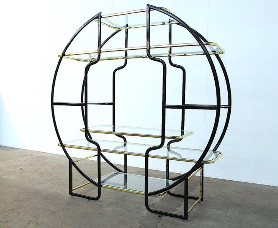 gro es rundes hollywood regency regal bei pamono kaufen. Black Bedroom Furniture Sets. Home Design Ideas