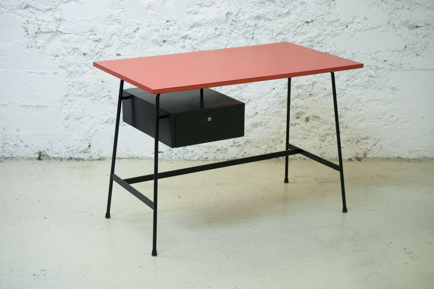 cm178 schreibtisch von pierre paulin f r thonet 1950er. Black Bedroom Furniture Sets. Home Design Ideas