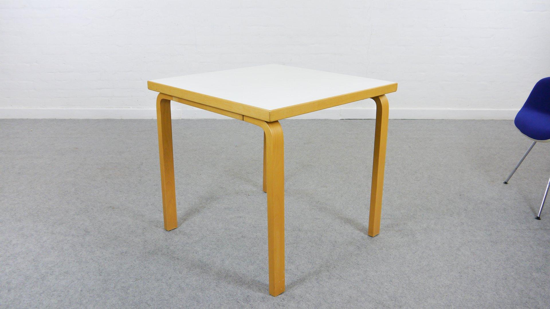 Vintage Model 81C Dining Table By Alvar Aalto For Artek