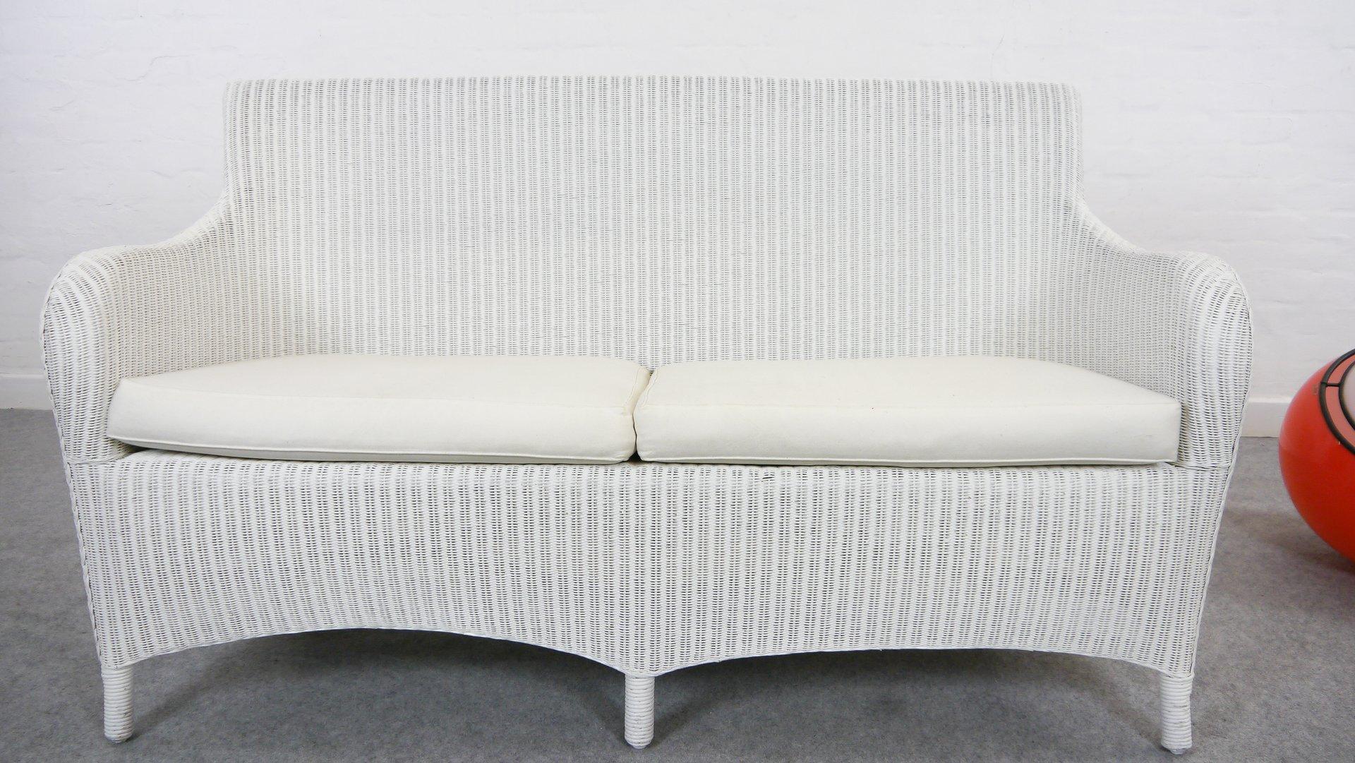 wei es vintage lloyd loom rattan sofa von welle bei pamono kaufen. Black Bedroom Furniture Sets. Home Design Ideas