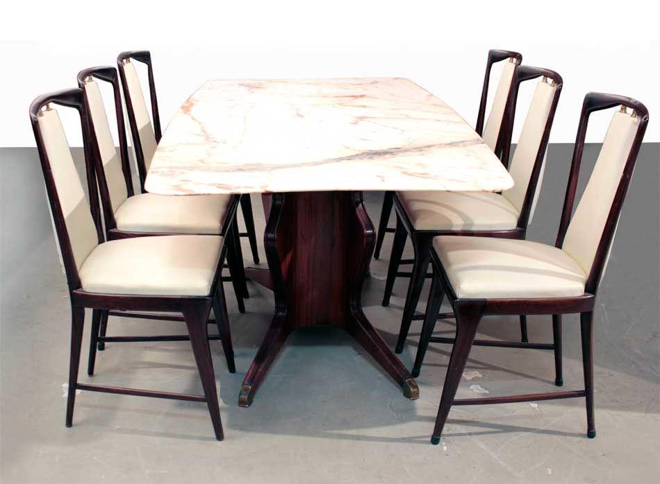 Mid-Century Dining Table by Osvaldo Borsani for Atelier Borsani ...