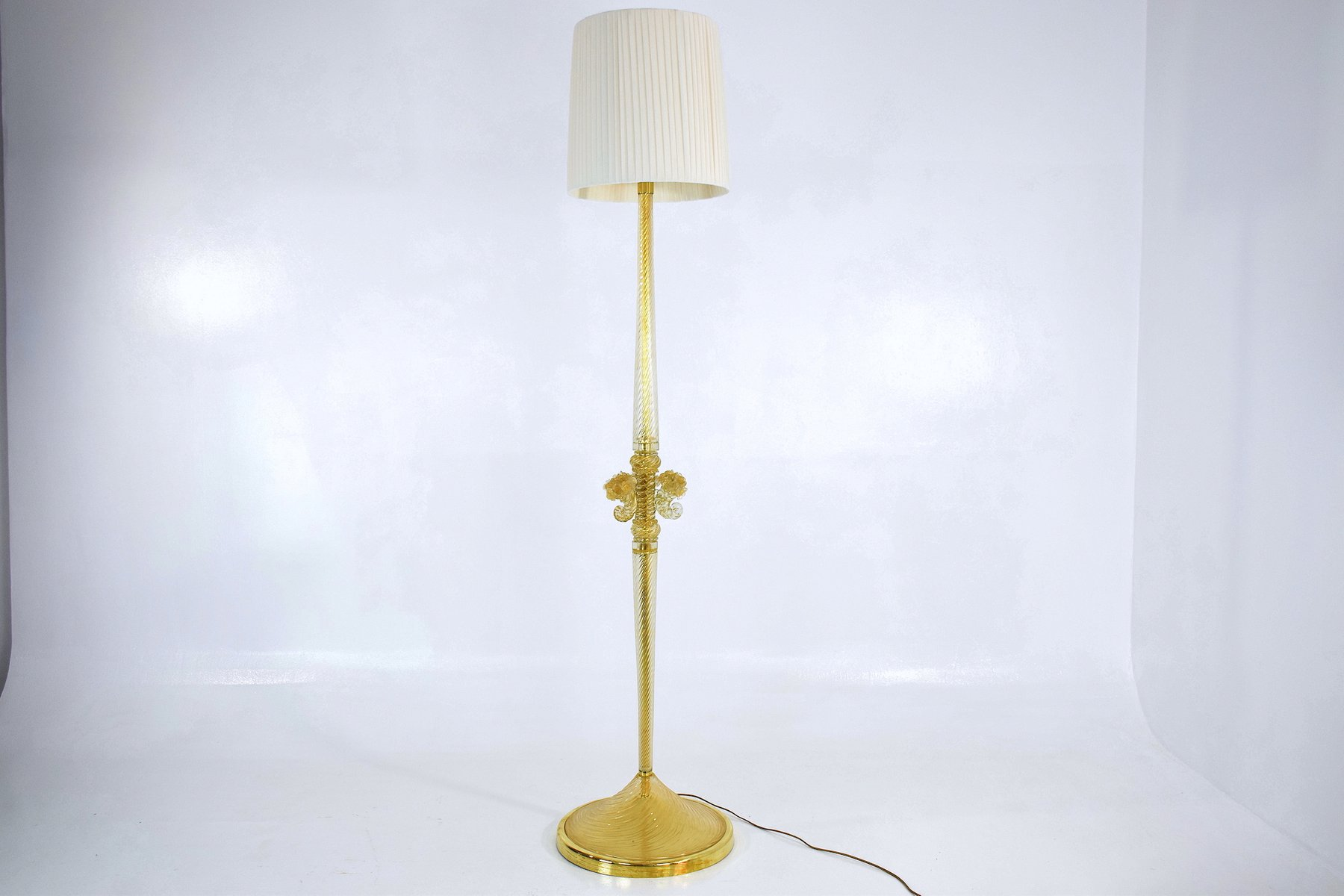 Mid century murano floor lamp by ercole barovier for barovier mid century murano floor lamp by ercole barovier for barovier toso 1940s for sale at pamono mozeypictures Images