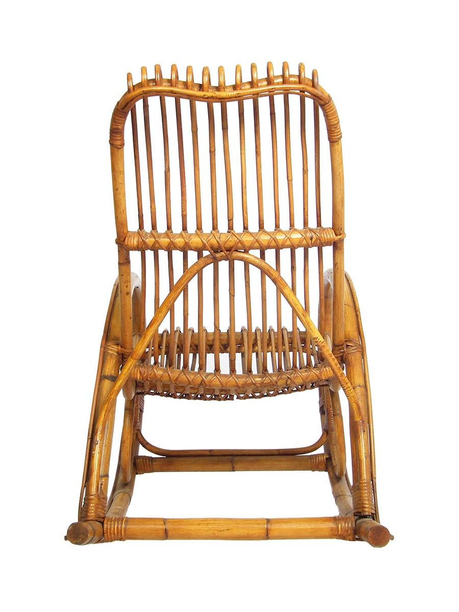 Mid Century Bohemian Rocking Chair 1960s For Sale At Pamono
