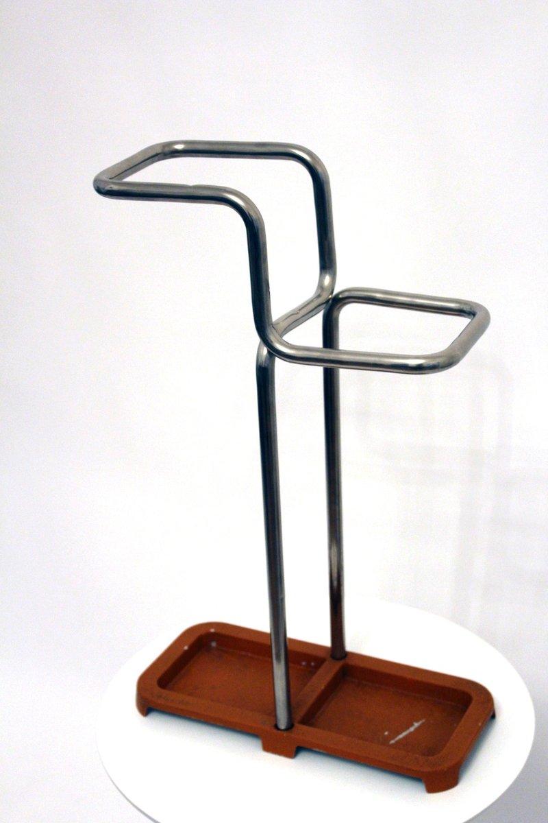 bauhaus schirmst nder aus stahlrohr 1930er bei pamono kaufen. Black Bedroom Furniture Sets. Home Design Ideas