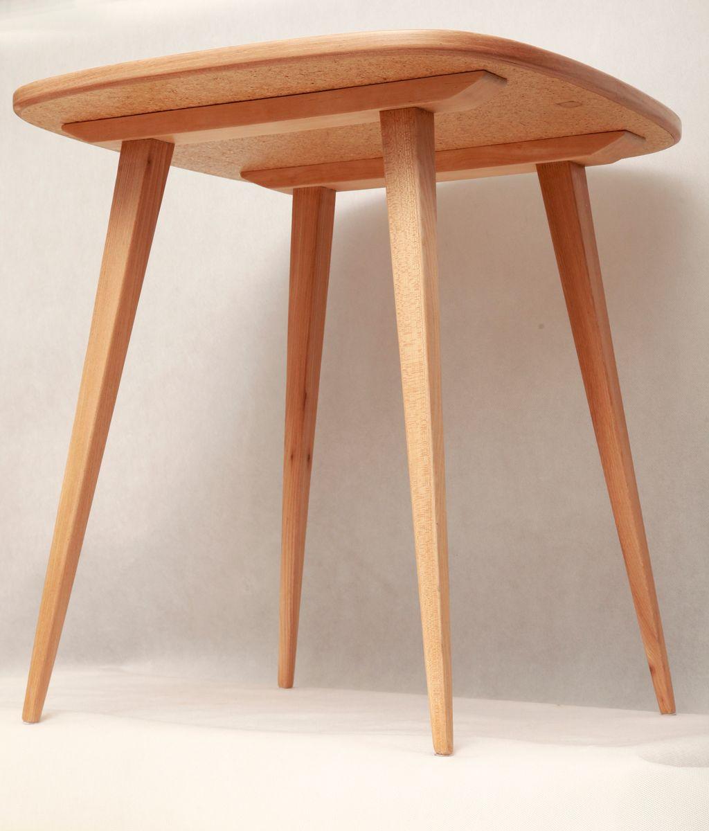 st hle mit tisch von h lachert f r ad 1956 bei pamono. Black Bedroom Furniture Sets. Home Design Ideas