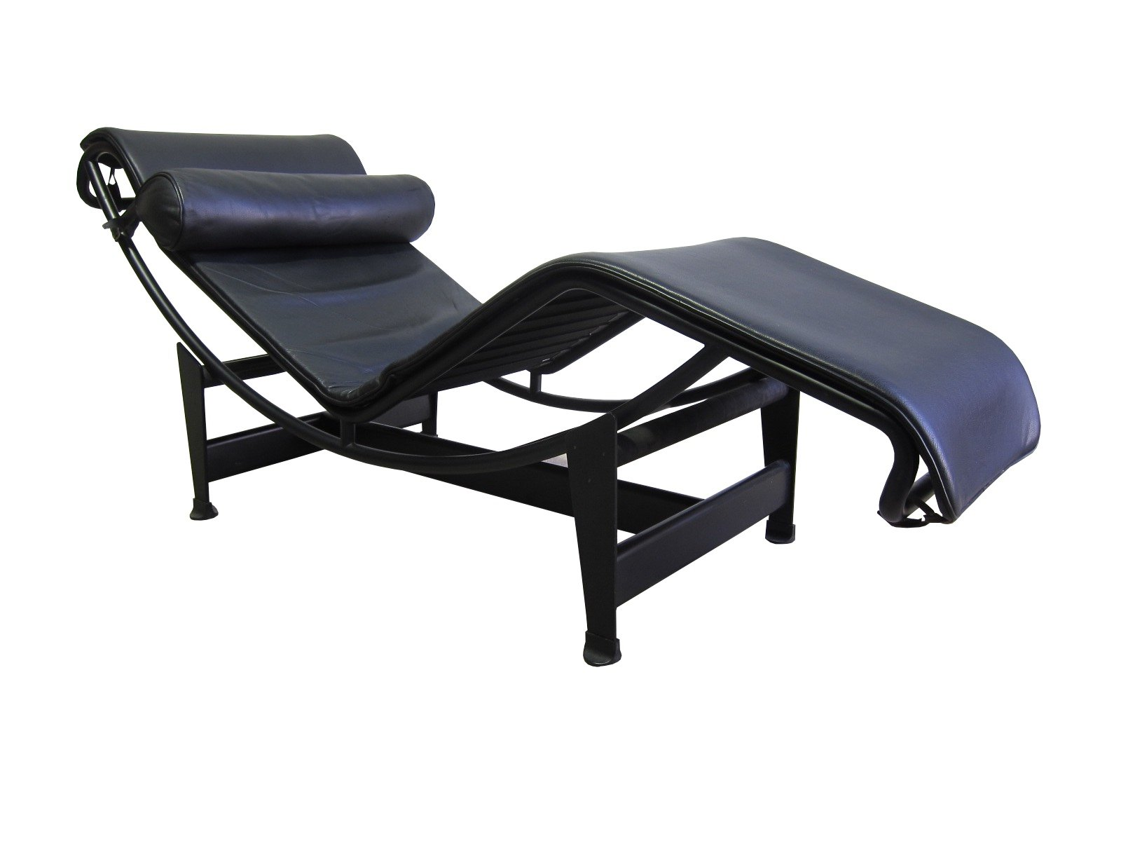 vintage lc4 chaise lounge by le corbusier for cassina 1980s for sale at pamono. Black Bedroom Furniture Sets. Home Design Ideas