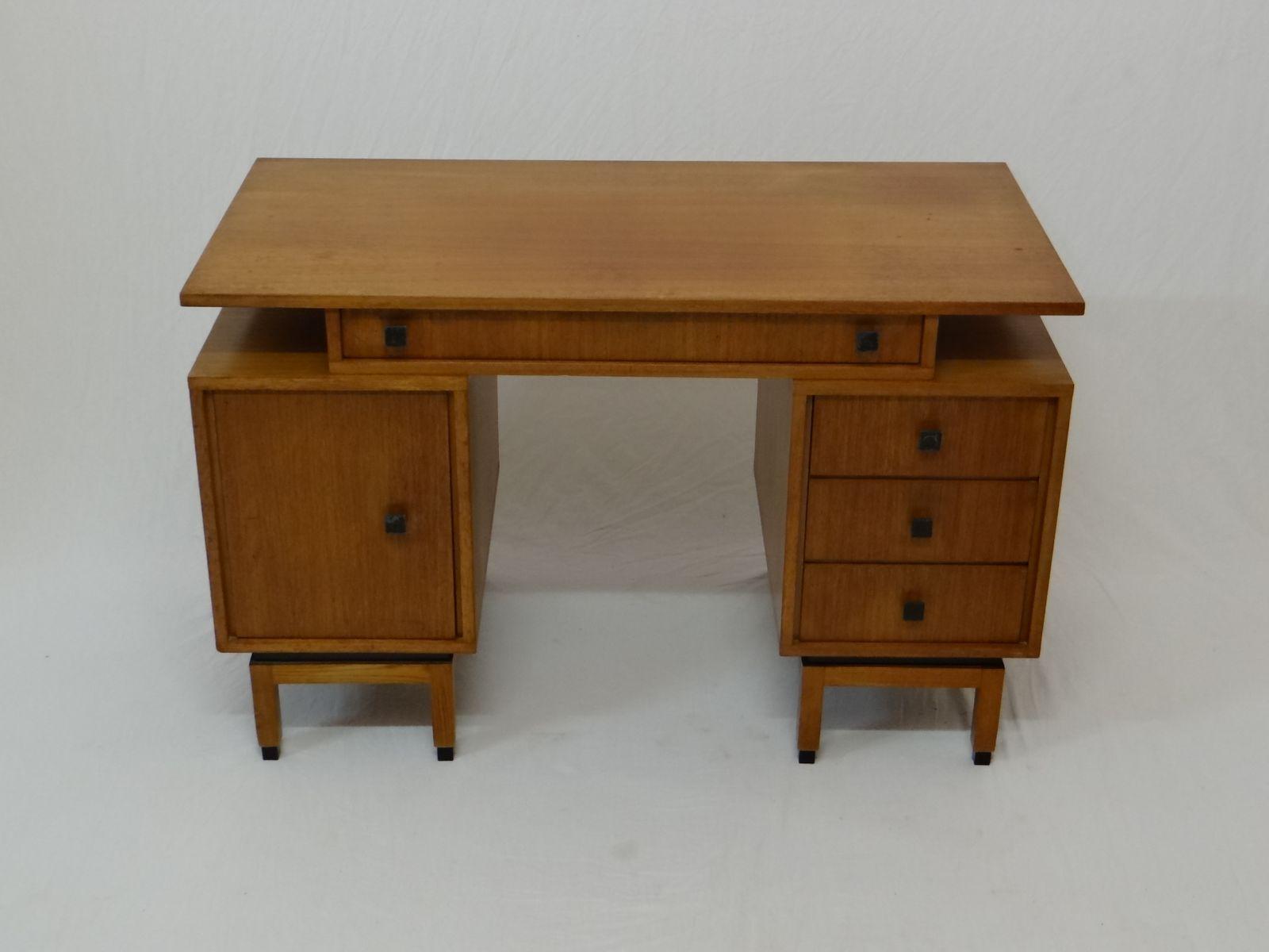 palisander schreibtisch von mdk belgium 1960er bei pamono. Black Bedroom Furniture Sets. Home Design Ideas