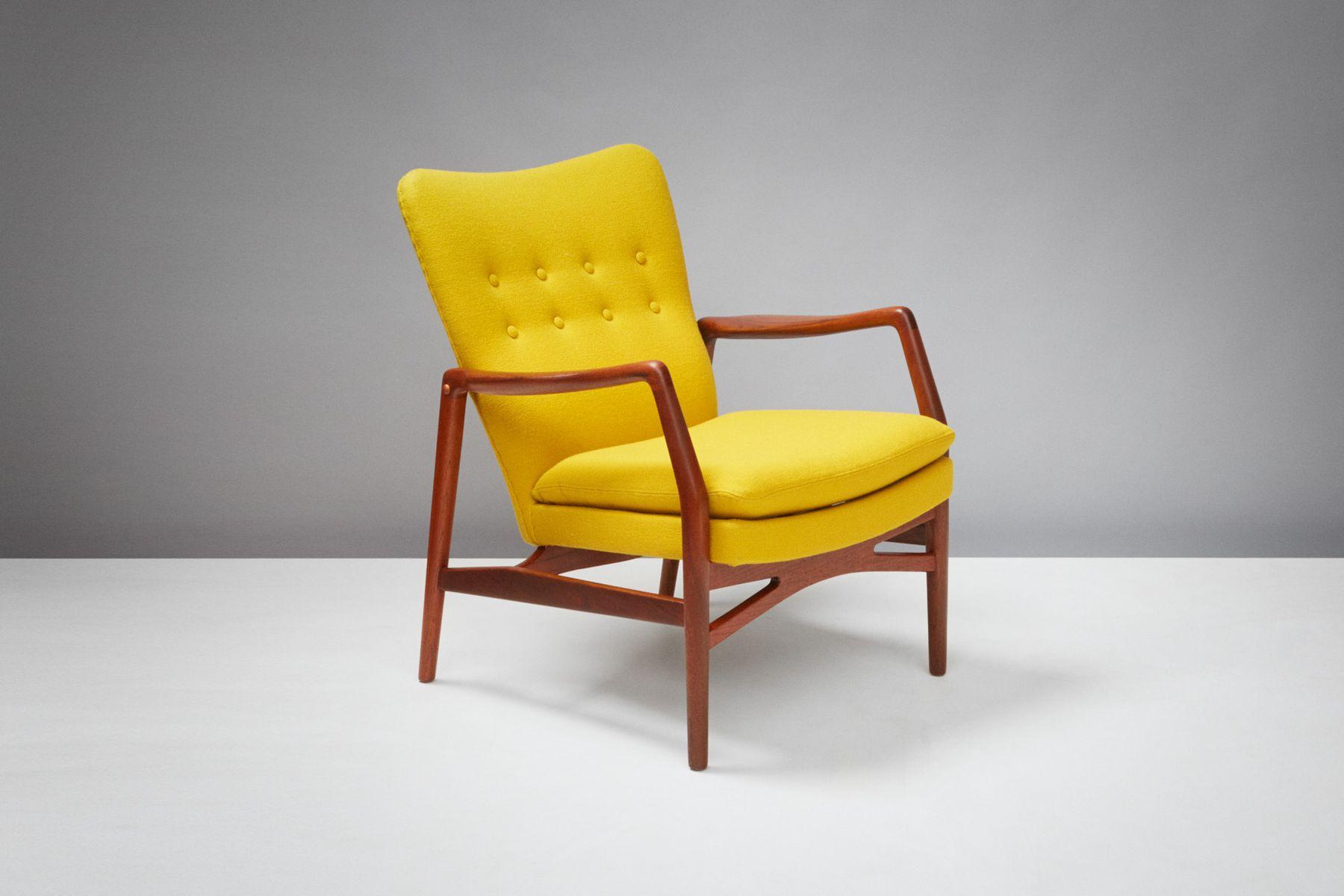 215 Lounge Chair by Kurt Olsen for Slagelse Mobelvaerk, 1954 for ...