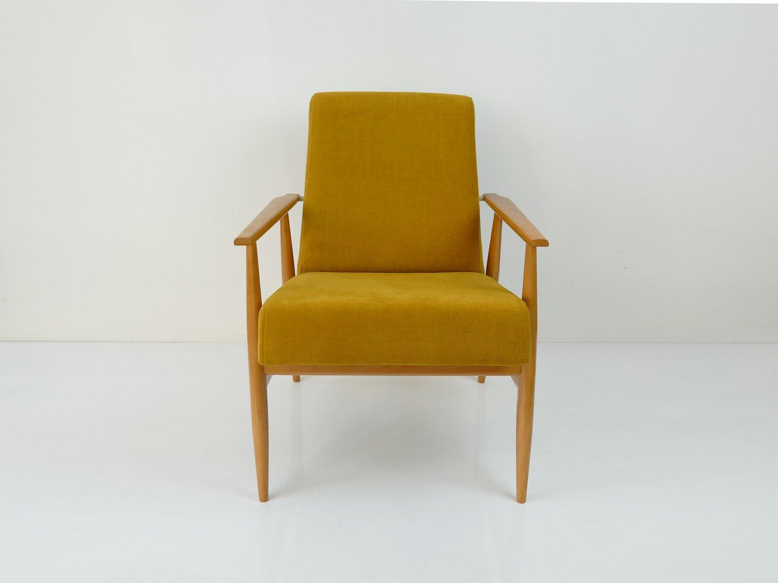 Vintage Polish Yellow Armchair 9. $997.00. Price per piece