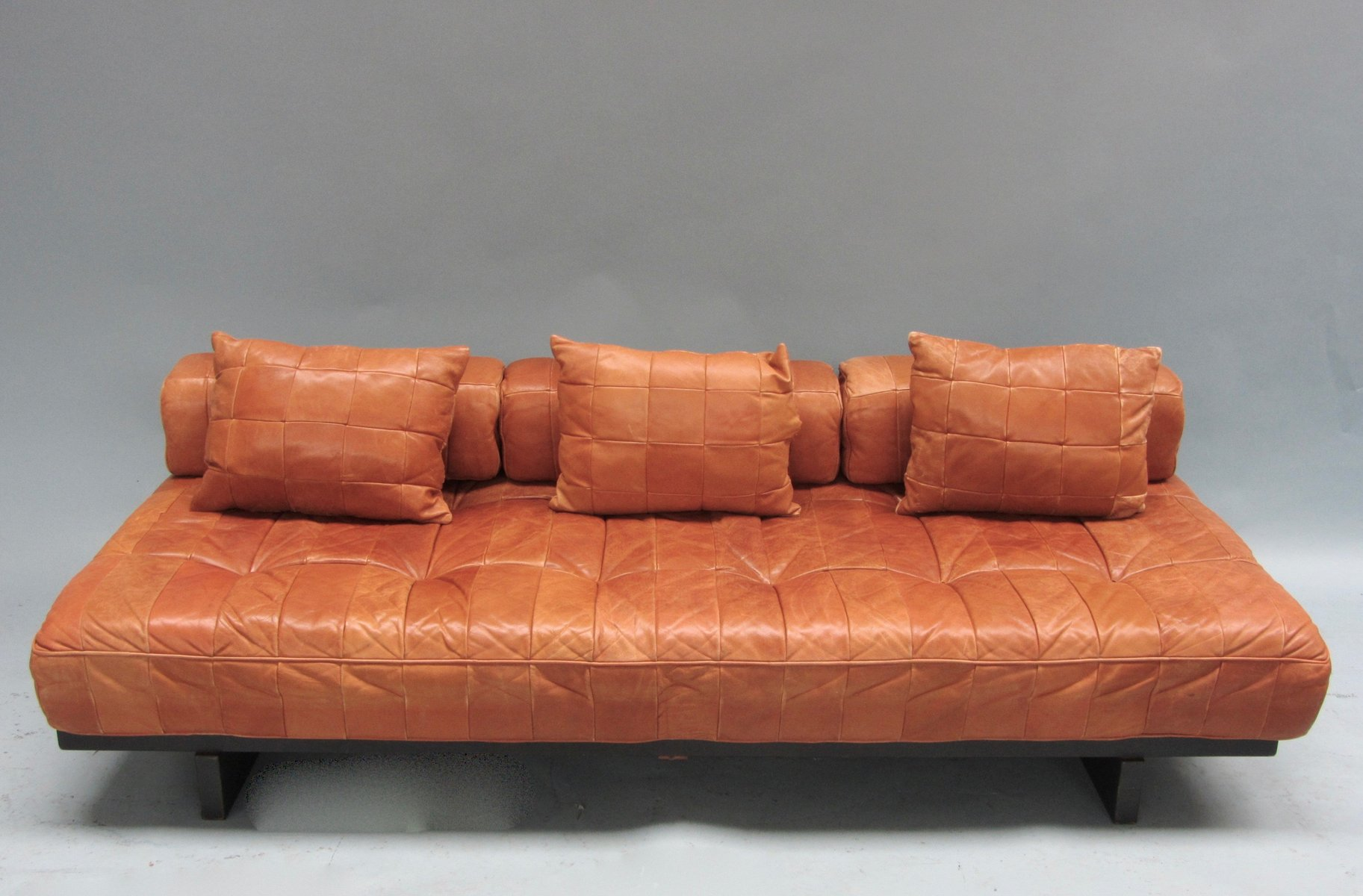 Ds 80 daybed sofa in patchwork leather from de sede 1970s for Sofa 1 80 breit