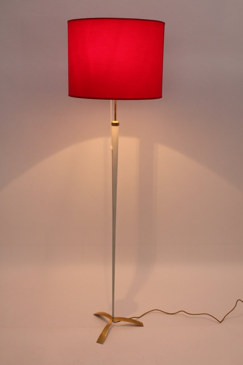 Mid Century Modern Floor Lamp By J T Kalmar 1950s For