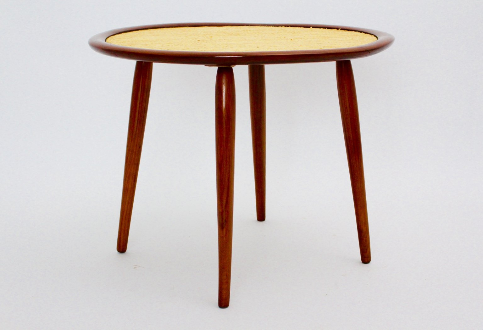 Mid Century Austrian Cherrywood Coffee Table By Max Kment For Sale At Pamono