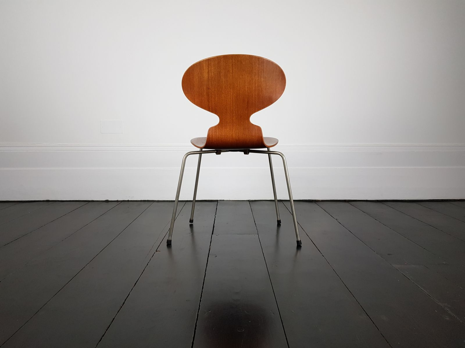 vintage model 3100 ant chair by arne jacobsen for fritz hansen for sale at pamono. Black Bedroom Furniture Sets. Home Design Ideas