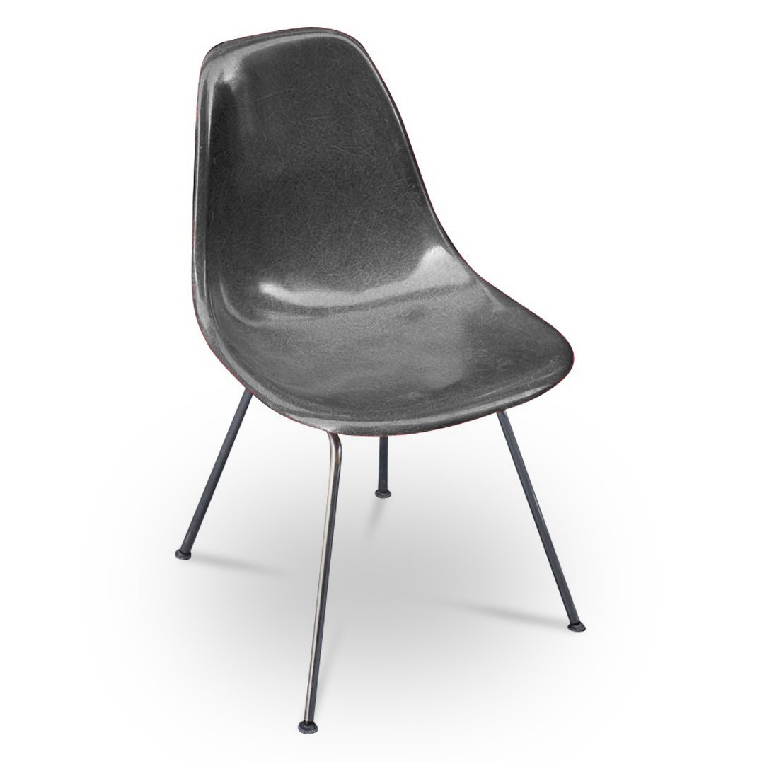 Dsx stuhl von eames f r herman miller 1950er bei pamono for Eames stuhl imitat