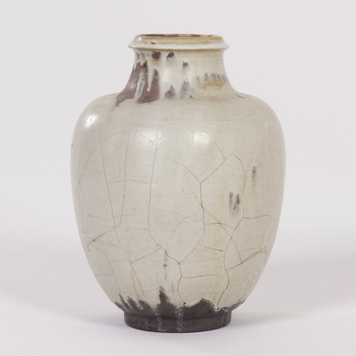 Handmade Ceramic Mobach Vase From Mobach 1930s For Sale