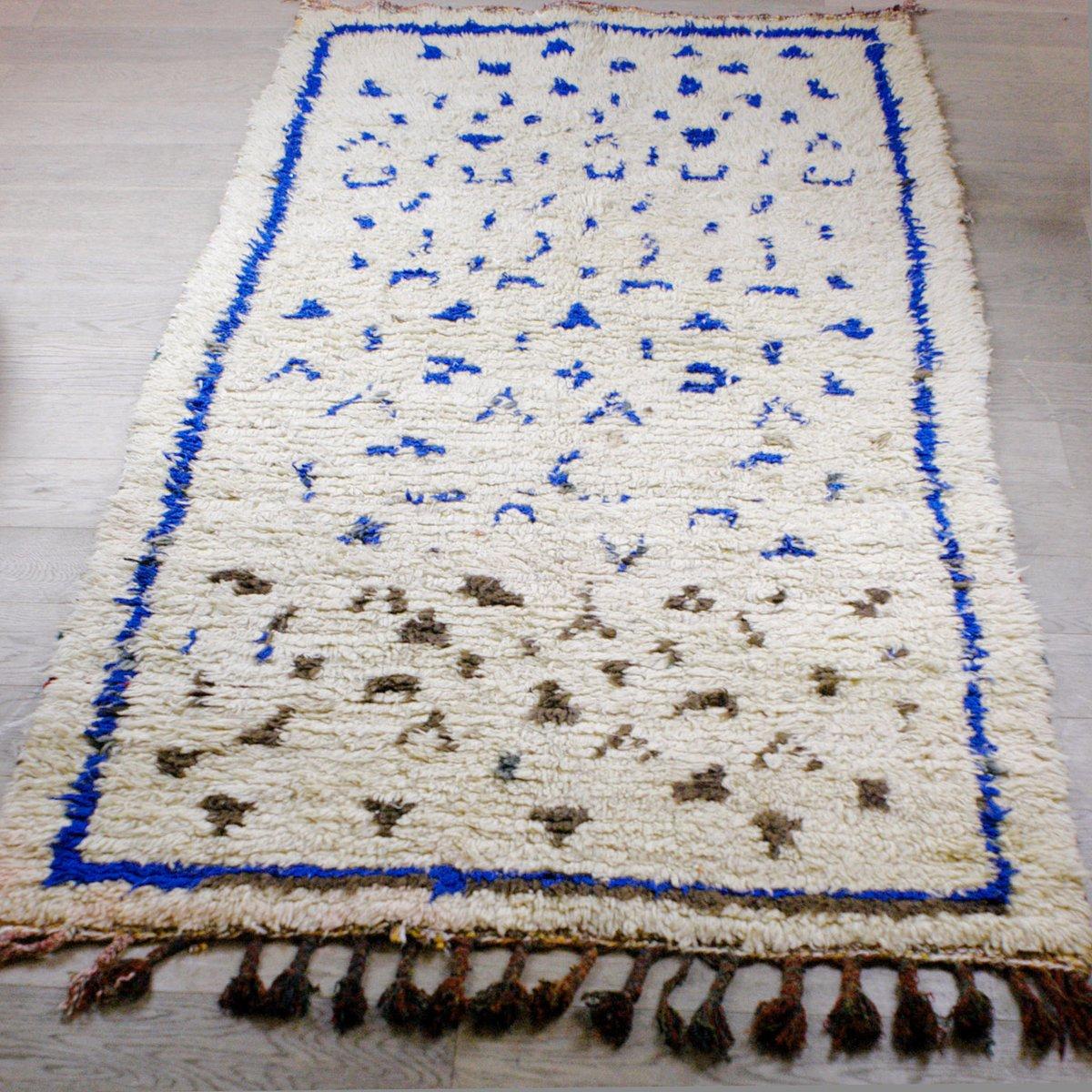 marokkanischer vintage azilal teppich bei pamono kaufen
