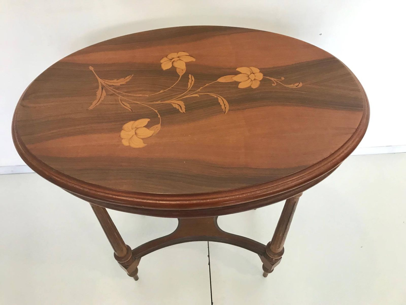 Italian art nouveau style coffee table 1950s for sale at Vogue coffee table