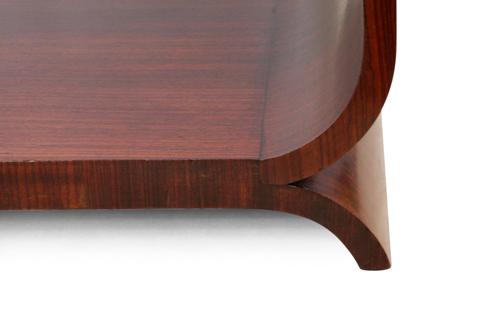 franz sischer palisander art deco beistelltisch bei pamono. Black Bedroom Furniture Sets. Home Design Ideas