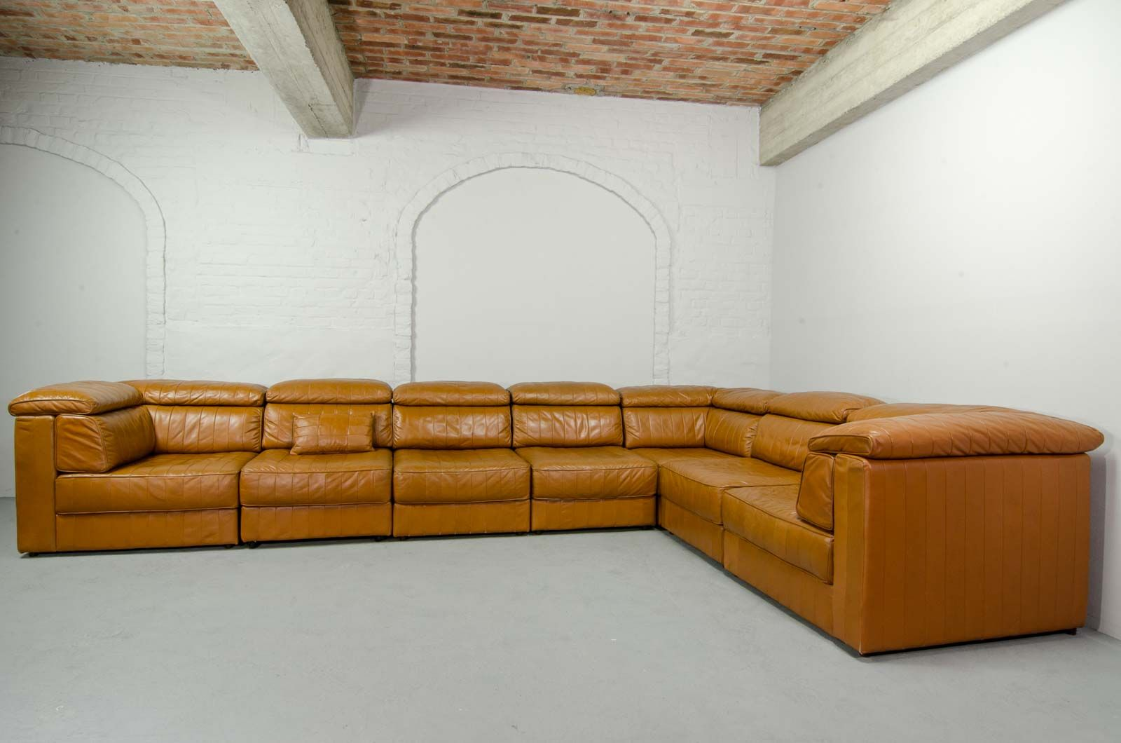 Mid-Century Modular Patchwork Sofa by Laauser, 1970s for sale at ...