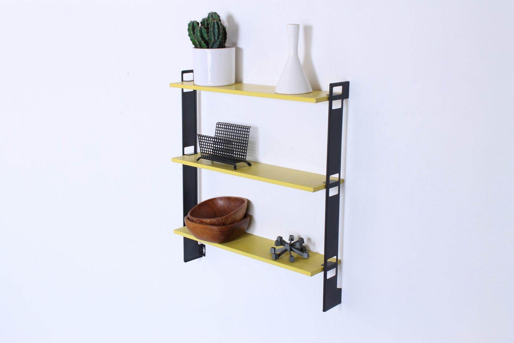 vintage mini pocket series wandregal von a d dekker f r. Black Bedroom Furniture Sets. Home Design Ideas