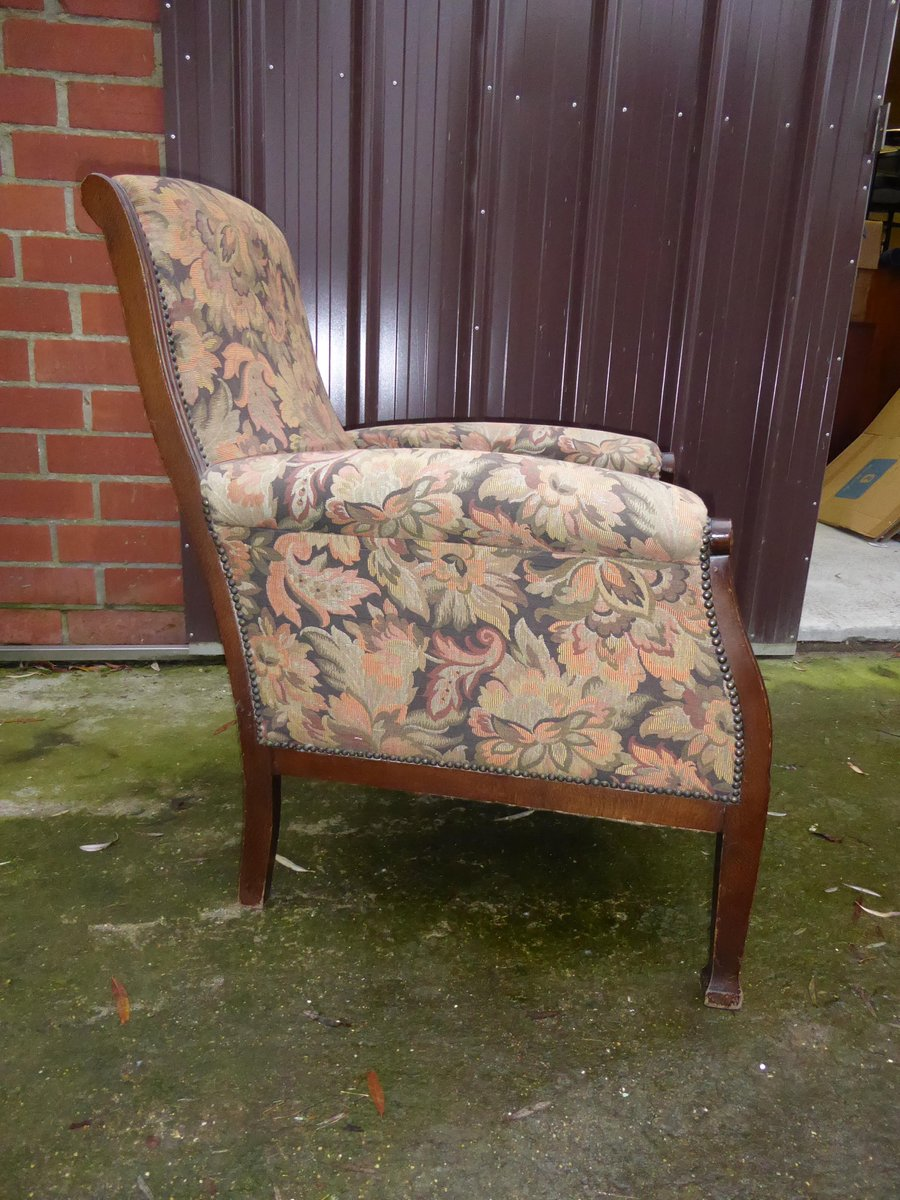 belgischer vintage art deco stuhl bei pamono kaufen. Black Bedroom Furniture Sets. Home Design Ideas