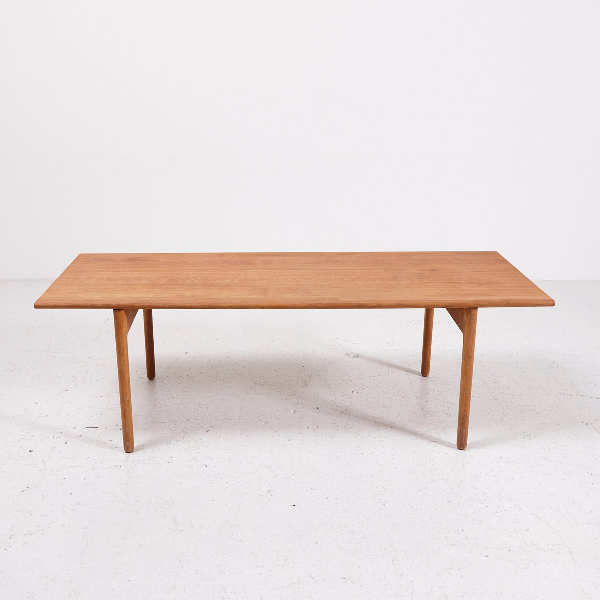 Model AT-15 Oak Coffee Table by Hans J. Wegner for Andreas Tuck,