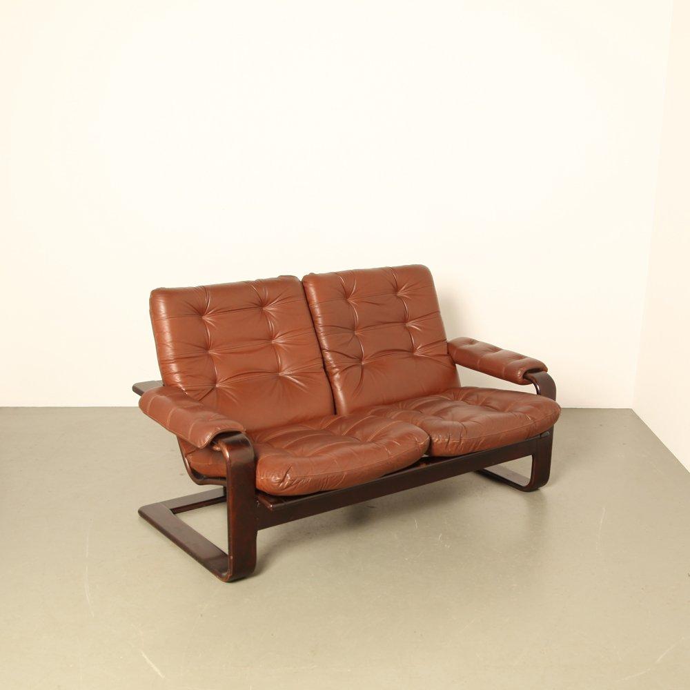 d nisches zwei sitzer sofa von coja 1970er bei pamono kaufen. Black Bedroom Furniture Sets. Home Design Ideas