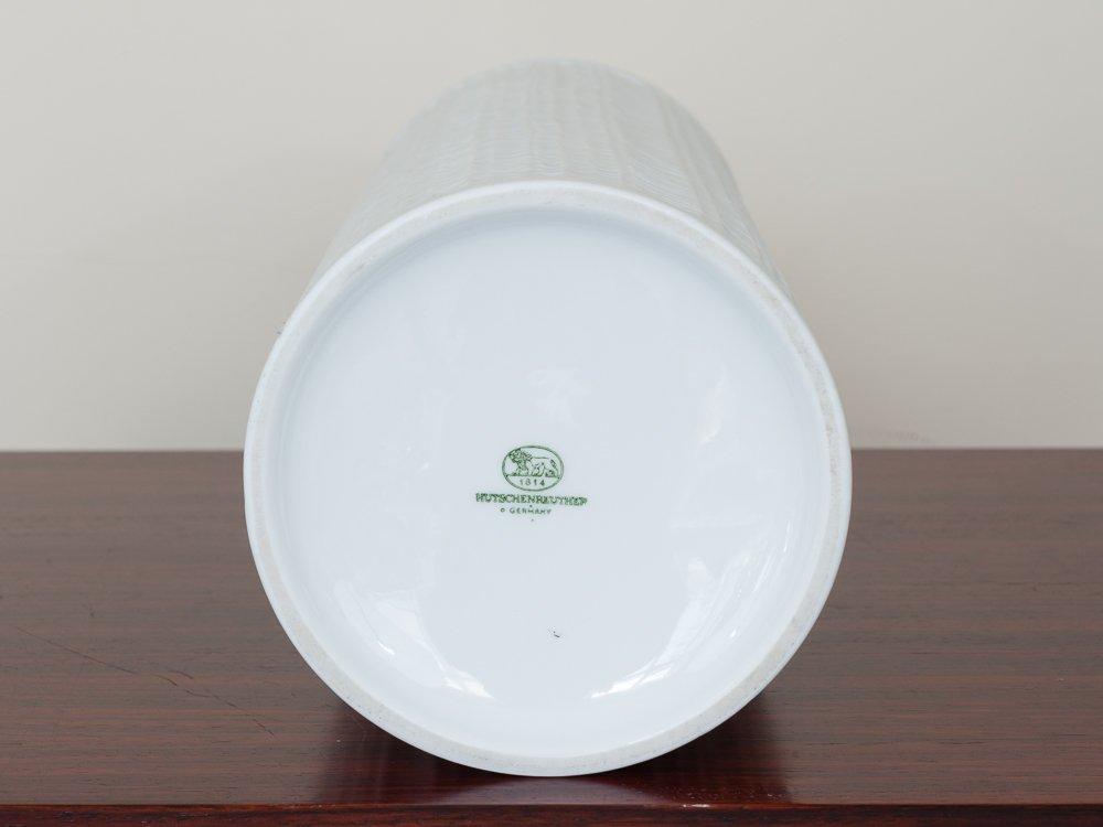 mid century matte white porcelain vase from. Black Bedroom Furniture Sets. Home Design Ideas