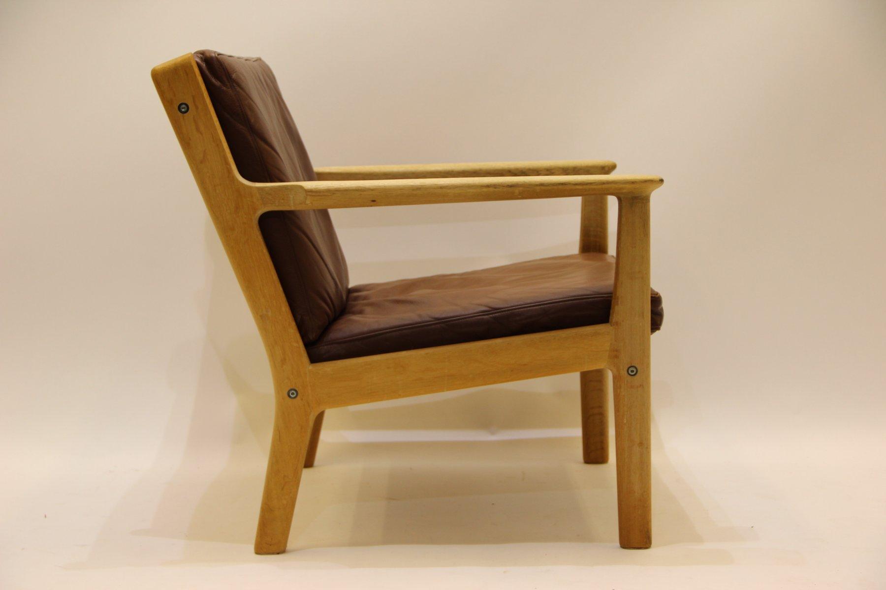 Vintage GE 265 Armchair by Hans J. Wegner for Getama