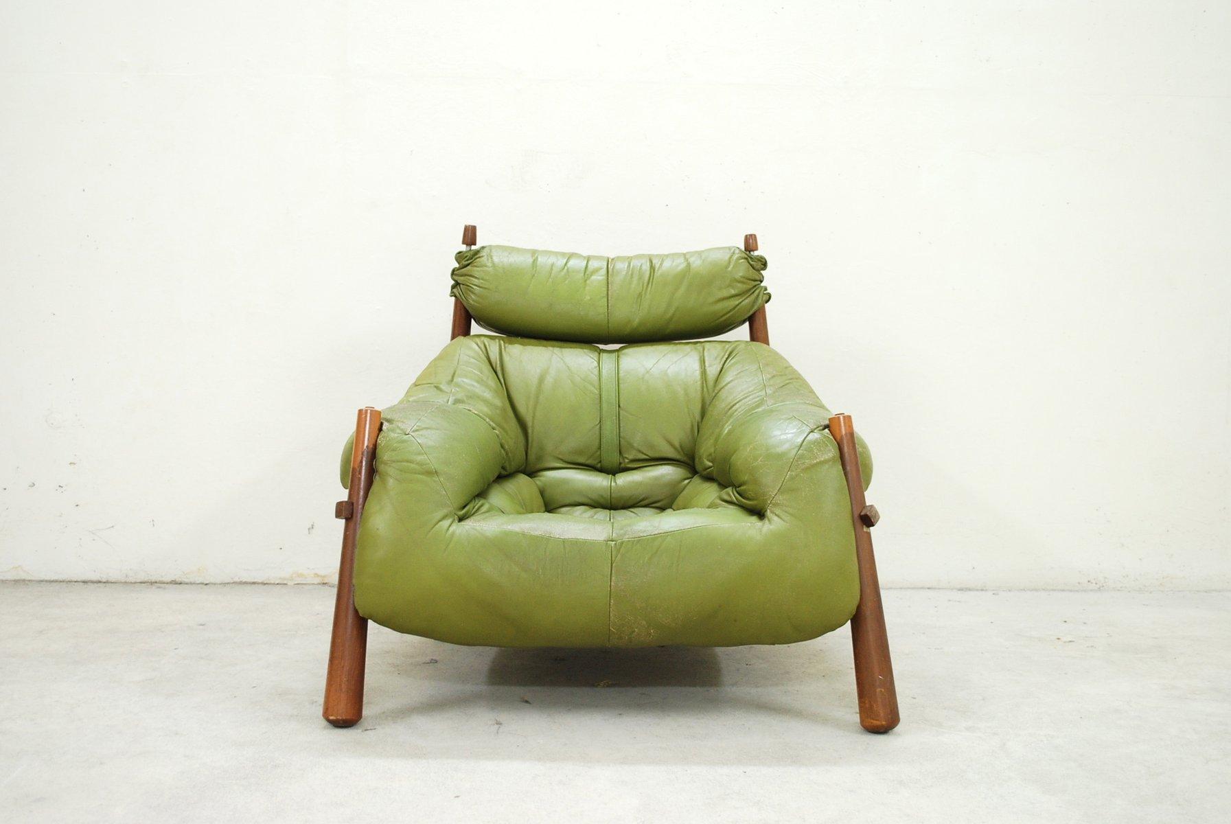 gr ner vintage sessel von percival lafer 1958 bei pamono. Black Bedroom Furniture Sets. Home Design Ideas