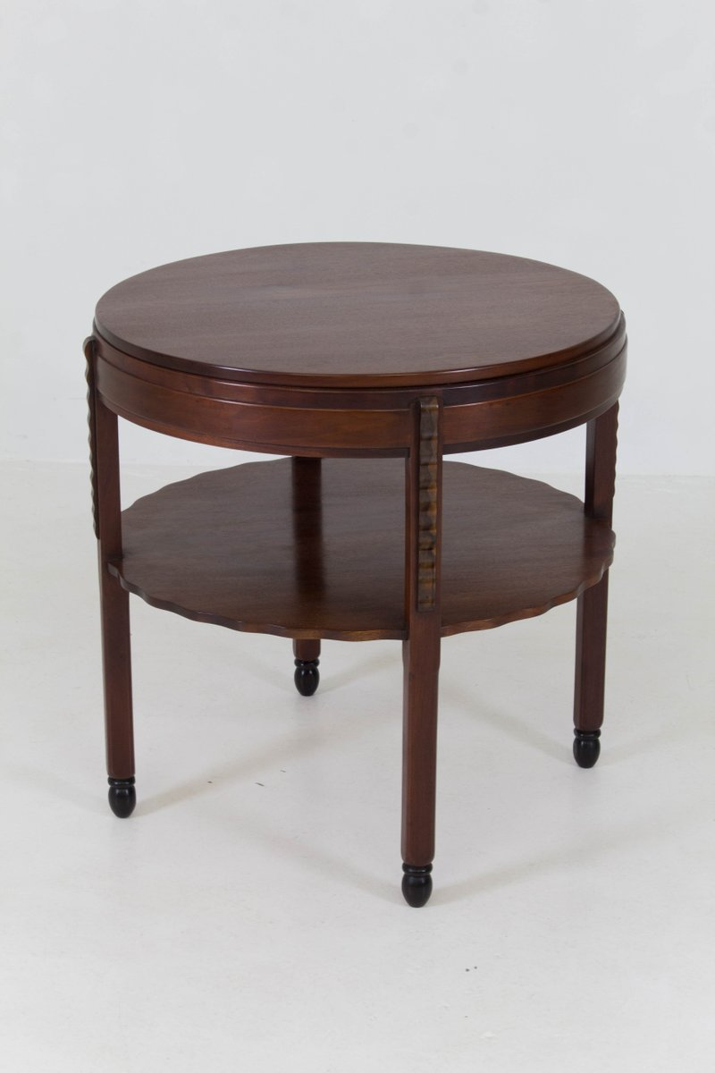 Art Deco Amsterdam School Mahogany Coffee Table From Fa Drilling 1920s For Sale At Pamono