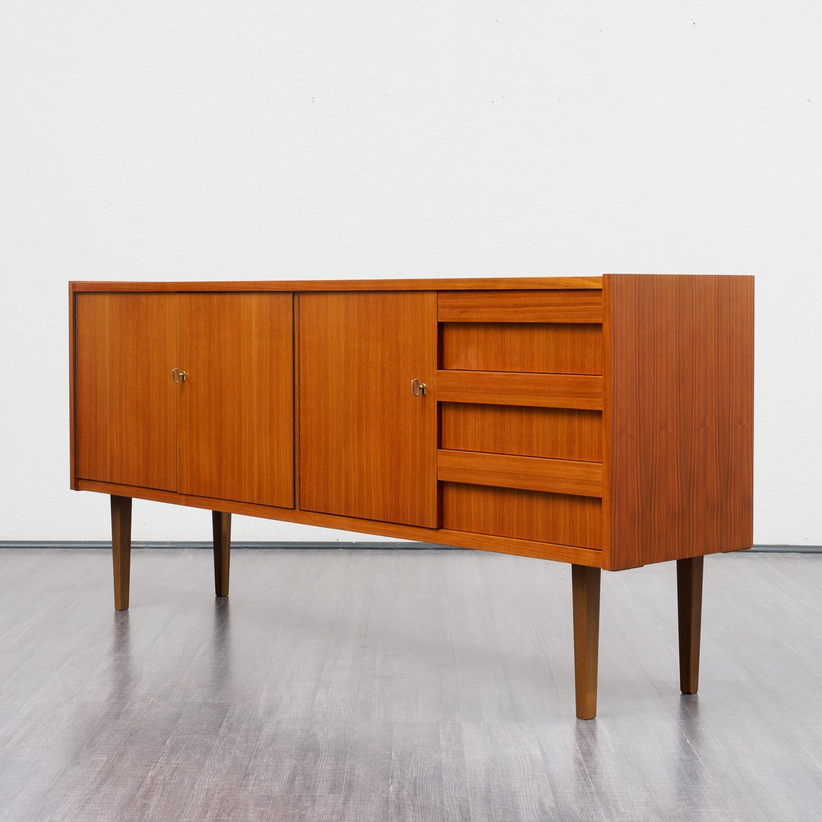 Walnut sideboard 1960s for sale at pamono for Sideboard 60er jahre
