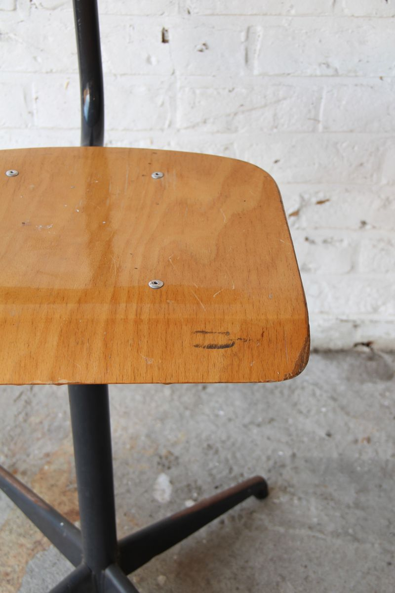 Vintage industrial swivel desk chair 1970s for sale at pamono - Cb industry chair ...