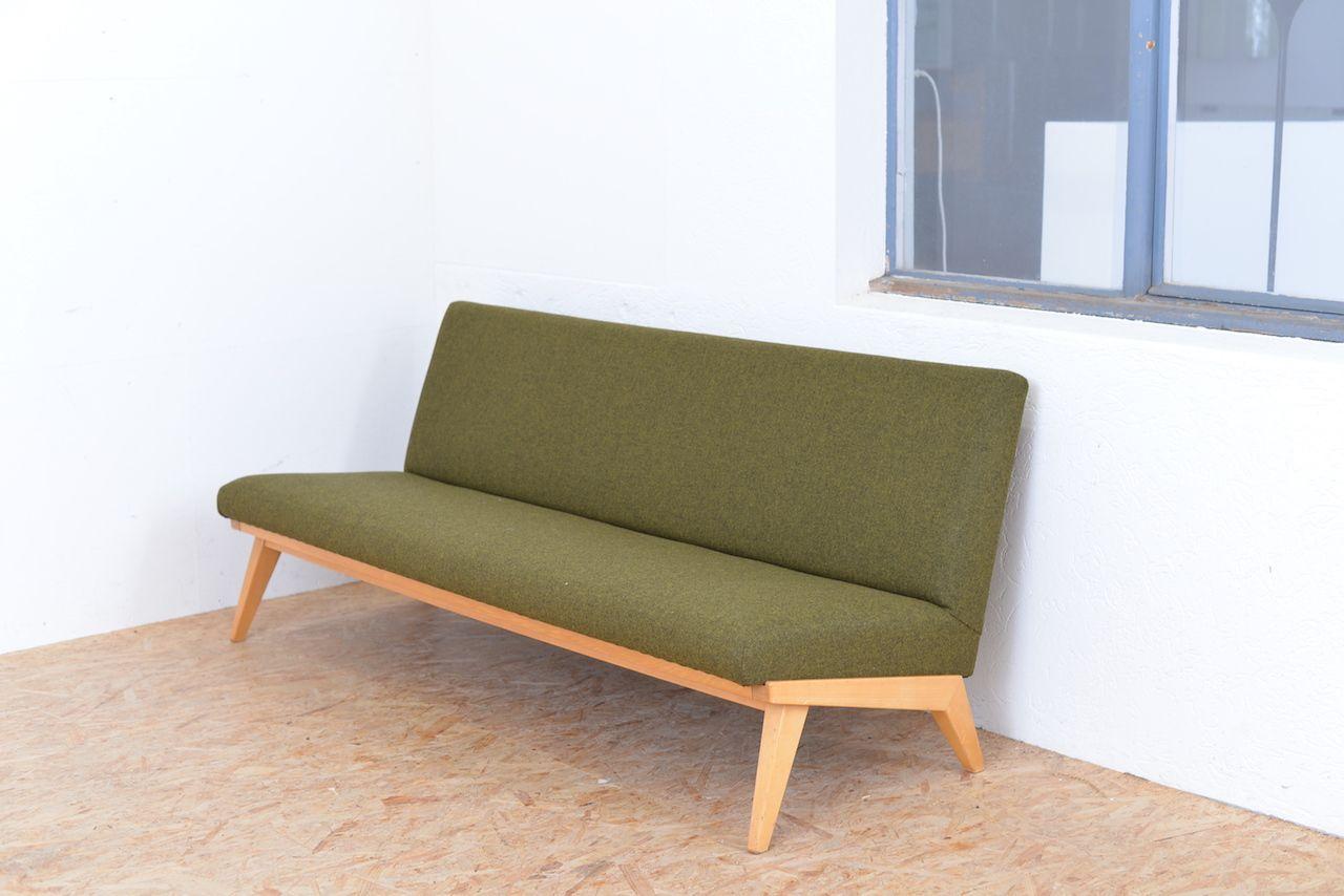 vintage sofa by jens risom for knoll international bei pamono kaufen. Black Bedroom Furniture Sets. Home Design Ideas