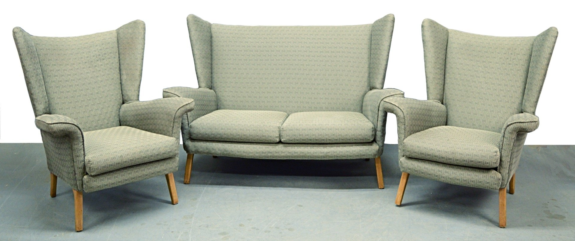 Mid-Century 3-Piece Living Room Set, 1950s for sale at Pamono