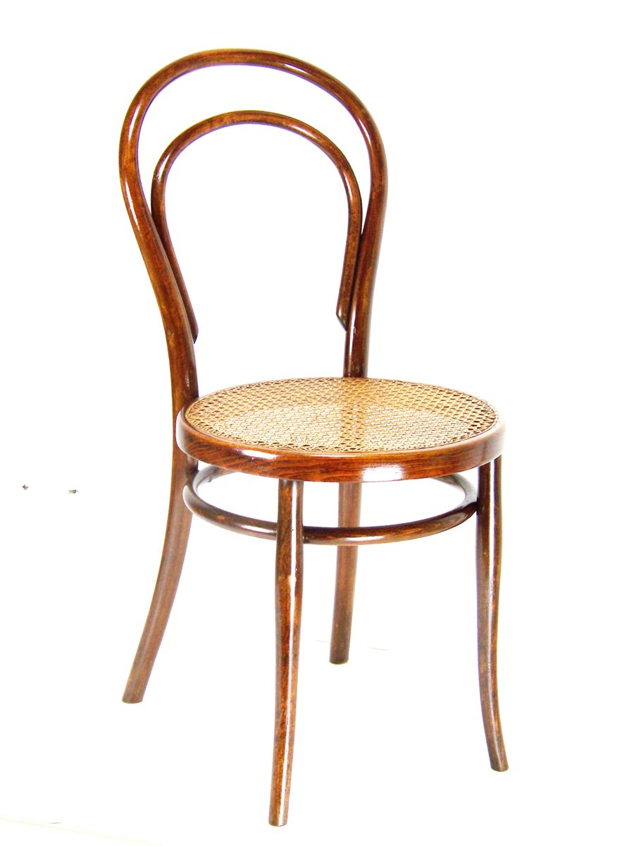 model 14 side chair from thonet 1887 for sale at pamono. Black Bedroom Furniture Sets. Home Design Ideas