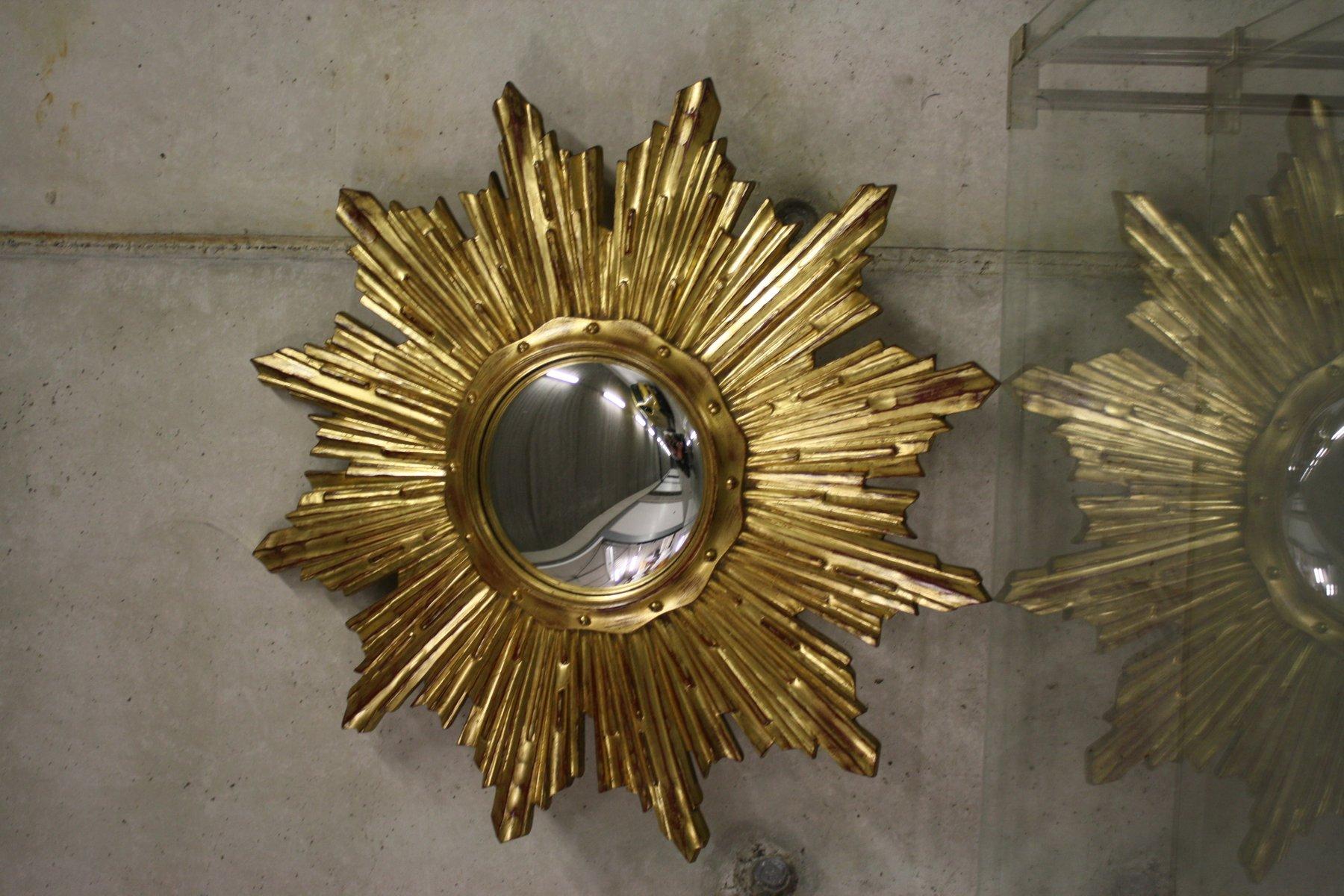 Specchio vintage a forma di sole anni 39 60 in vendita su pamono - Specchio a forma di sole ...