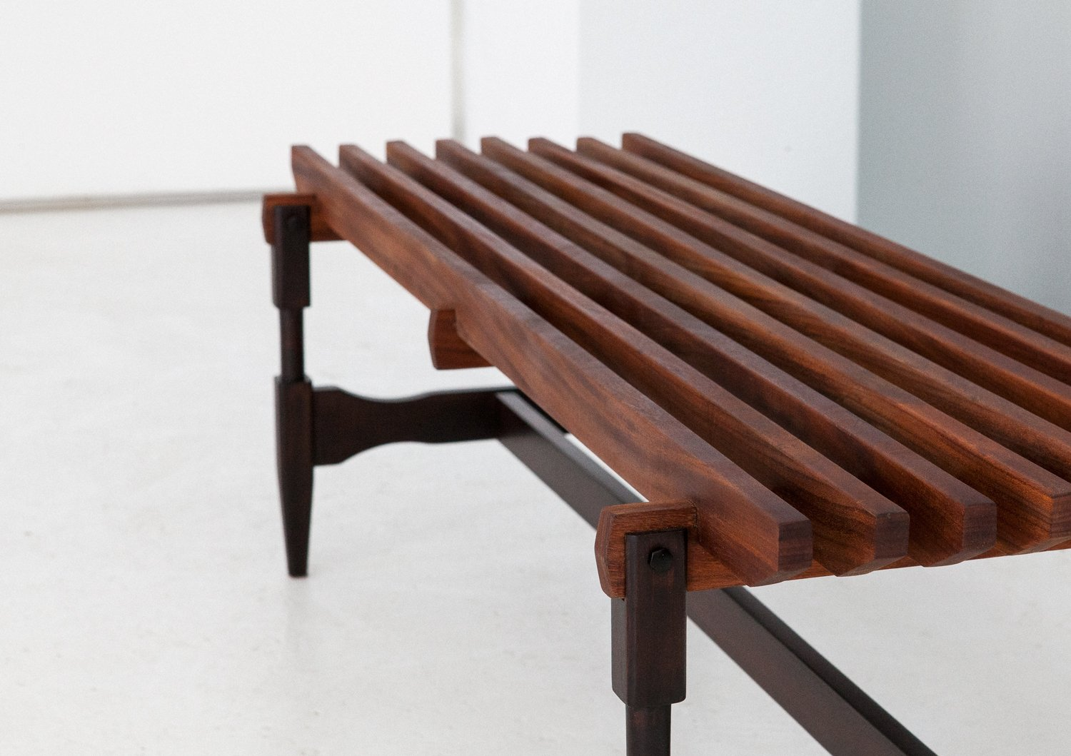 Mid century italian wooden bench 1950s for sale at pamono Wooden bench for sale