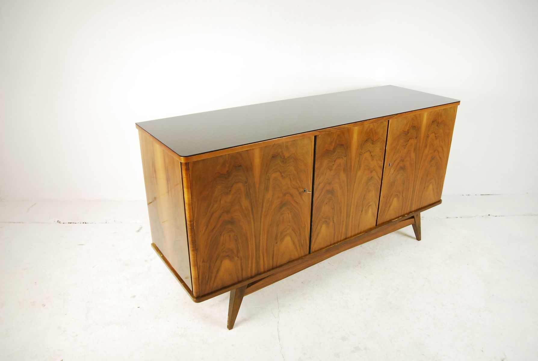 Beech sideboard from lodz furniture factory 1960s for for Furniture factory