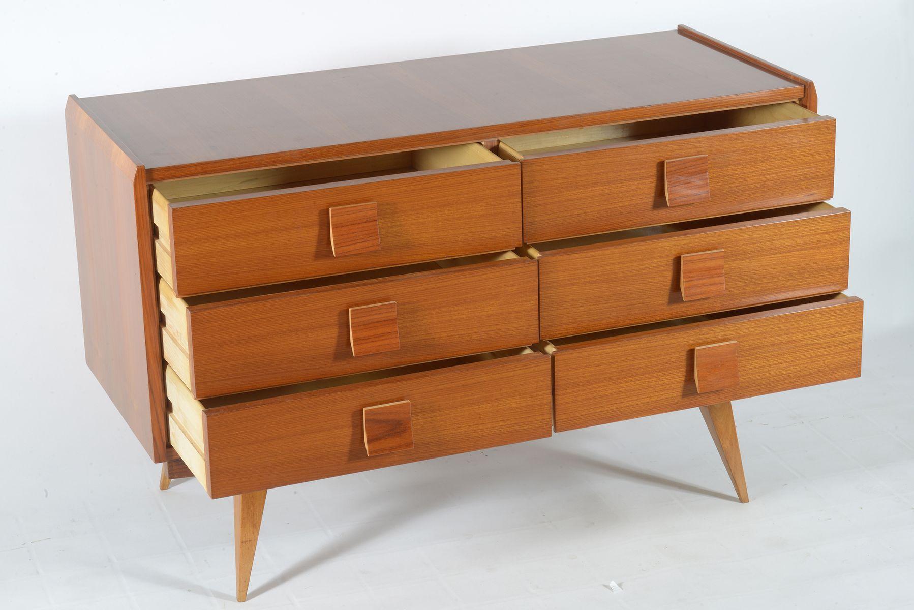 Mid Century Italian Dresser From Cavatorta 1950s For Sale