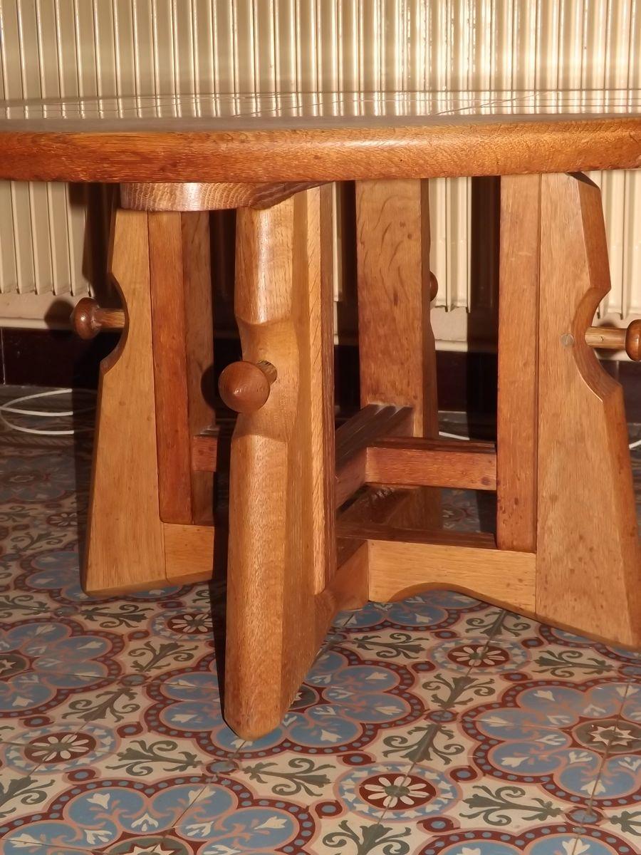 Side Table By Guillerme Et Chambron For Votre Maison