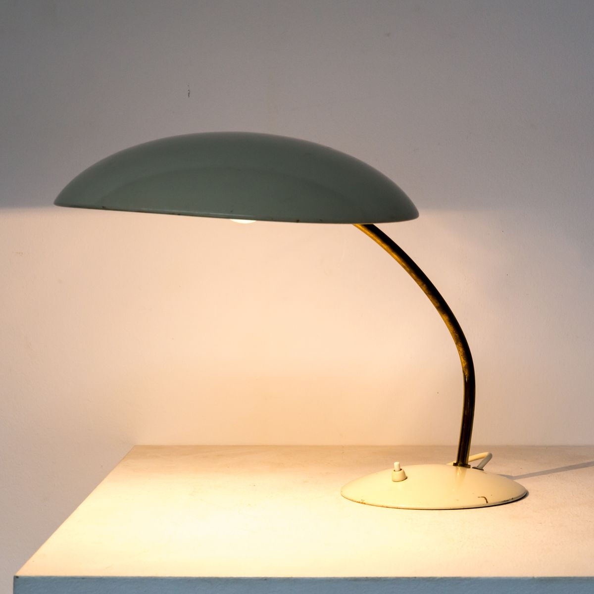 German Table Lamp By Christian Dell For Kaiser Idell