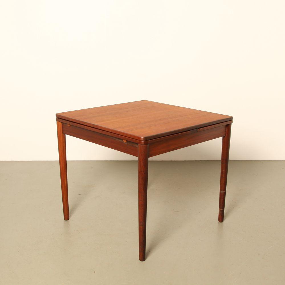 ausziehbarer tisch 1960er bei pamono kaufen. Black Bedroom Furniture Sets. Home Design Ideas
