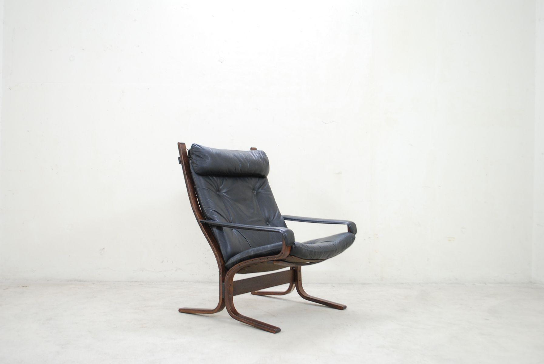 Vintage Siesta Model 303 Lounge Chair by Ingmar Relling for