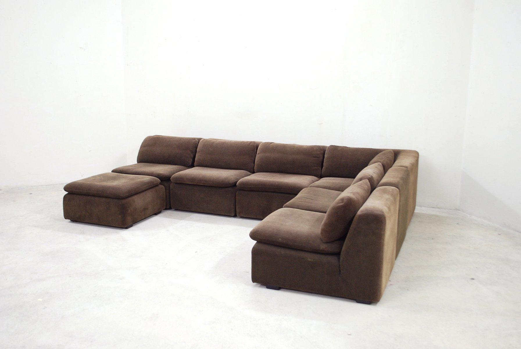 Vintage Brown Modular Sofa from Cor for sale at Pamono