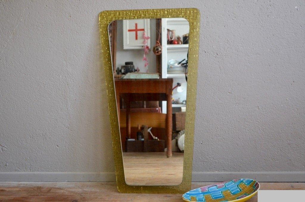 glas spiegel 1950er bei pamono kaufen. Black Bedroom Furniture Sets. Home Design Ideas