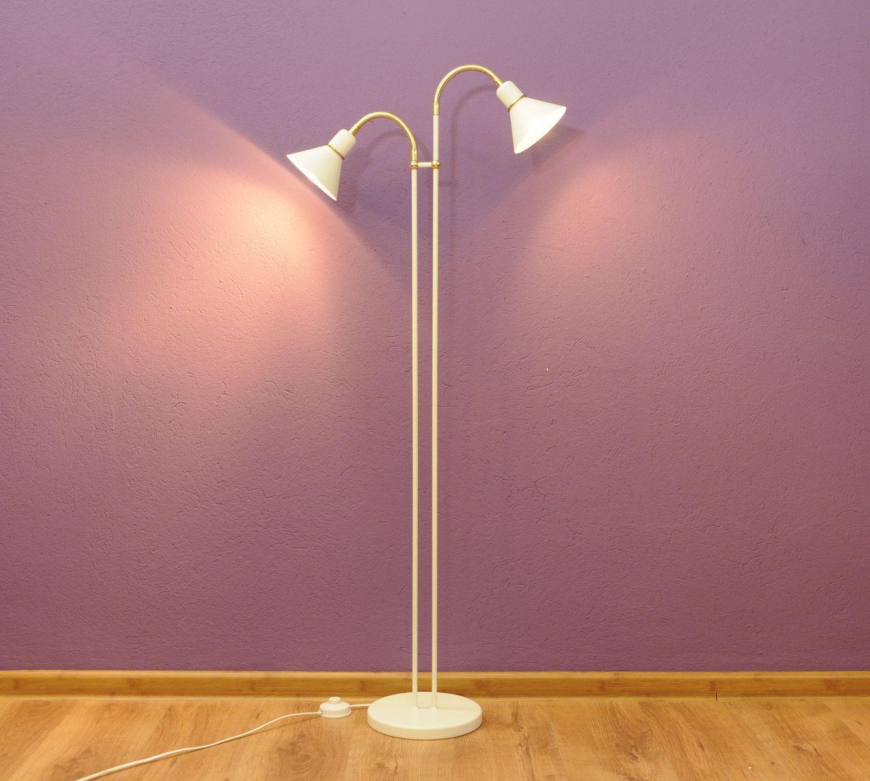 Vintage danish floor lamp for sale at pamono for Mfl 1 floor lamp